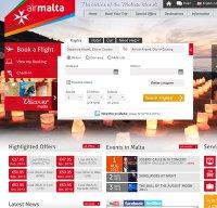 airmalta.com screenshot