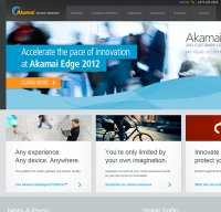 akamai.com screenshot