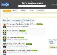 akaqa.com screenshot