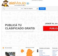 alamaula.com screenshot