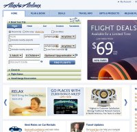 alaskaair.com screenshot