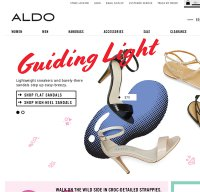 aldoshoes.com screenshot
