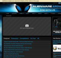 alienwarearena.com screenshot