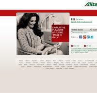alitalia.com screenshot