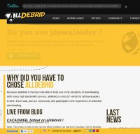 alldebrid.com screenshot