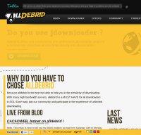 alldebrid.com screenshot