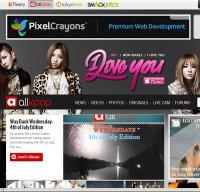 allkpop.com screenshot