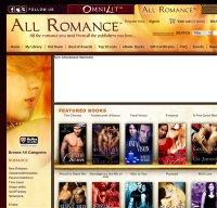 allromanceebooks.com screenshot