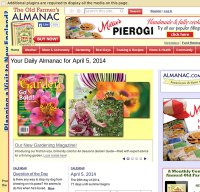 almanac.com screenshot