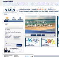 alsa.es screenshot