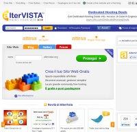 altervista.org screenshot