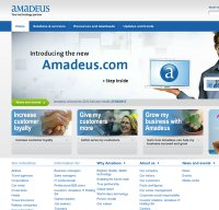 amadeus.com screenshot