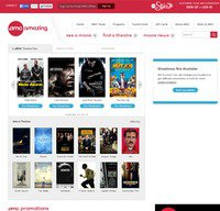 amctheatres.com screenshot