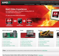 amd.com screenshot
