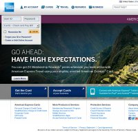 americanexpress.com screenshot