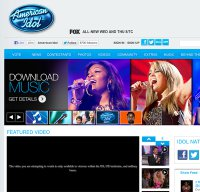 americanidol.com screenshot
