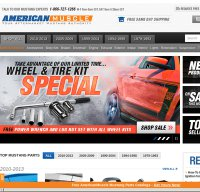 americanmuscle.com screenshot
