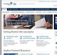 ameriprise.com screenshot