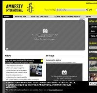 amnesty.org screenshot