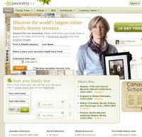 ancestry.ca screenshot