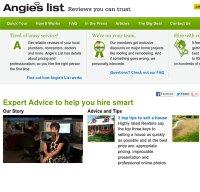 angieslist.com screenshot