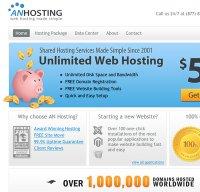 anhosting.com screenshot