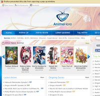 animehere.com screenshot