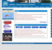 annauniv.edu screenshot