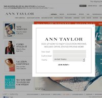 anntaylor.com screenshot