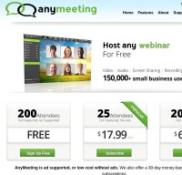 anymeeting.com screenshot
