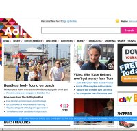 aol.co.uk screenshot