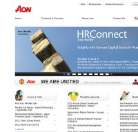 aon.com screenshot