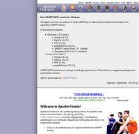 apachefriends.org screenshot