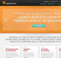 appnexus.com screenshot
