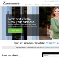 appointment-plus.com screenshot