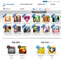 apps.samsung.com screenshot