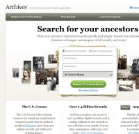 archives.com screenshot