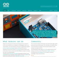 arduino.cc screenshot