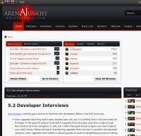arenajunkies.com screenshot