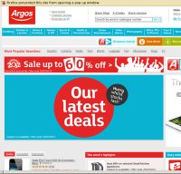 argos.co.uk screenshot