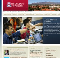 arizona.edu screenshot