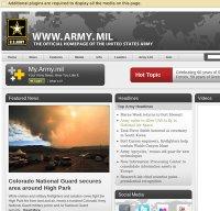 army.mil screenshot