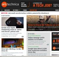 arstechnica.com screenshot