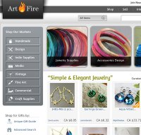 artfire.com screenshot