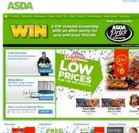 asda.com screenshot