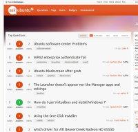 askubuntu.com screenshot
