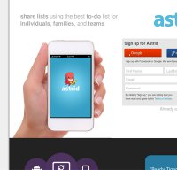 astrid.com screenshot