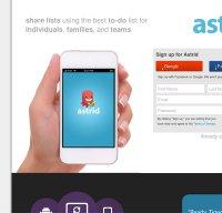 astrid.com screenshot