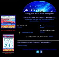 astrologyzone.com screenshot