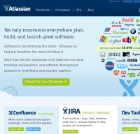 atlassian.com screenshot